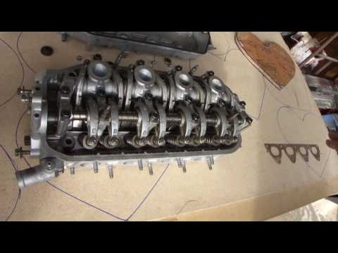 1990 Honda CRX Si Engine Cylinder Head Vapor Blasting Vapor Honing Technologies + A Valve Job