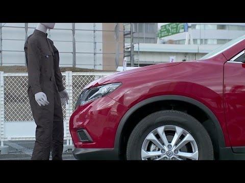 ► 2014 Nissan X-TRAIL Emergency Brake Demo