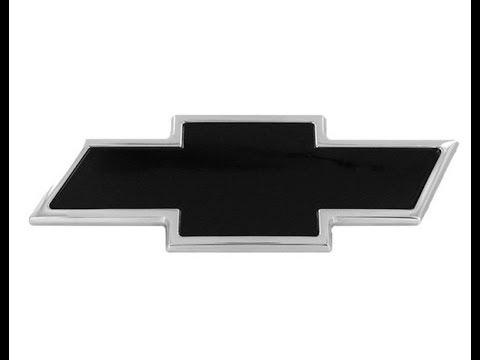 Project Silverado E16 - Black Chevy Bow Tie Install