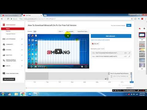 HOW TO ADD ANNOTATIONS AND END CARDS TO YOUTUBE VIDEO 2017