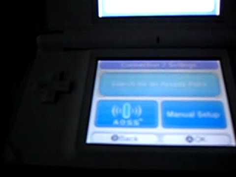 Nintendo DS lite secret WI-Fi button (using professor layton)