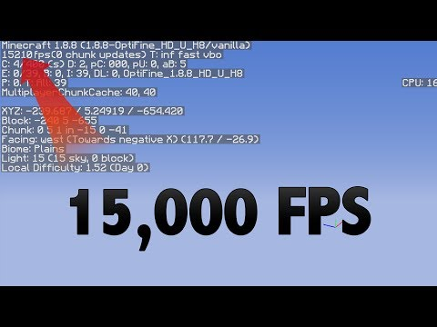What is the best PC Parts for Minecraft (15,000 FPS)