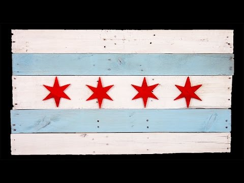 How To Make a Pallet Wood Flag