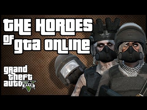 The Crews in GTA 5 Online | Hordes of madness | GTA Geographic