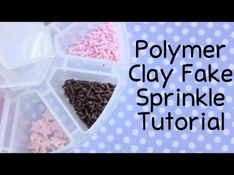 Back To Basics ● Polymer Clay Sprinkles