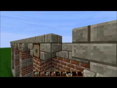 Minecraft - How to build a Roman house