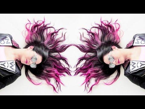 Hot Pink Ombre :: Manic Panic Hair Dye Tutorial (DIY)