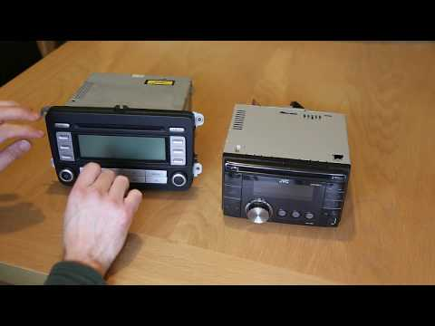 How to Fit & Connect a Double DIN ISO standard Radio in VW Golf/Passat