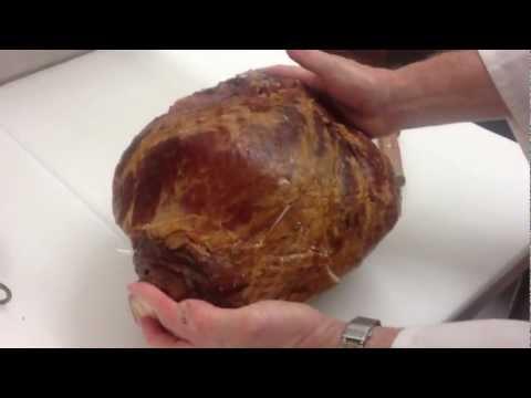 How to Debone a Ham, part 1