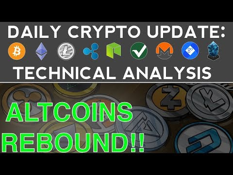 ALTCOINS REBOUND!! (11/8/17) Daily Crypto Update + Technical Analysis