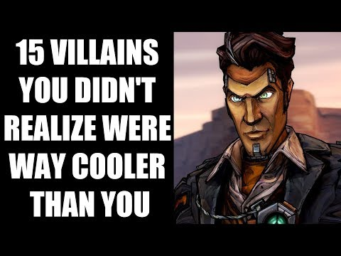 15 Villains You Didn't Realize Were Way Cooler Than You, The Hero