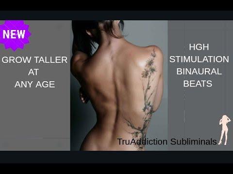 GROW TALLER FAST AT ANY AGE SUBLIMINAL(HGH STIMULATION BINAURAL BEATS )~TruAddiction Subliminals