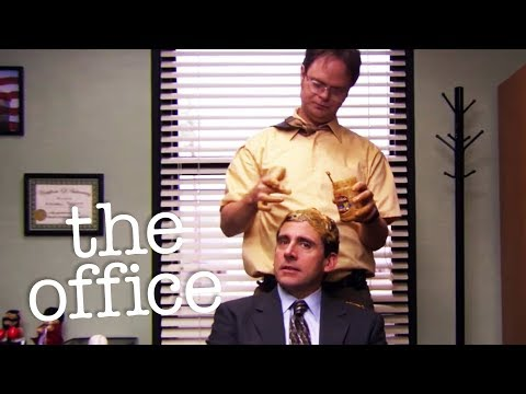Gum Stuck In Hair  - The Office US