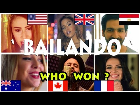 Who Sang It Better : Bailando ( France, US, Canada, Netherlands, UK, Egypt ) Enrique Iglesius
