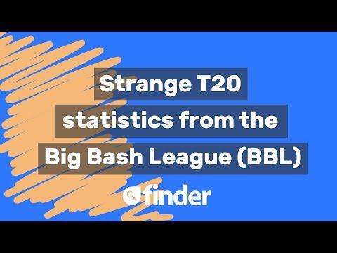 Strange T20 statistics from the Big Bash League (BBL)