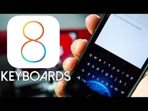 Top iOS 8 Custom Keyboards