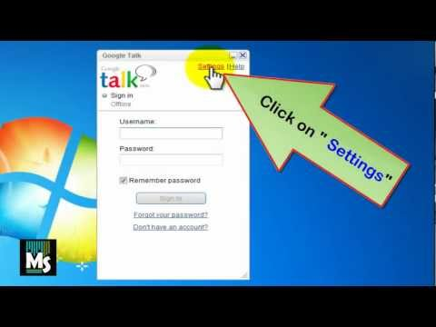 How to block Google Talk (gtalk)gettng started when computer starts