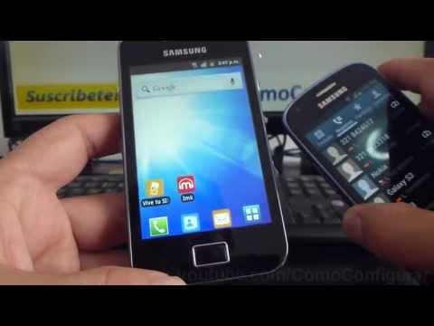 como asignar tonos o ringtone a un contacto en android samsung Galaxy ace S5830 español