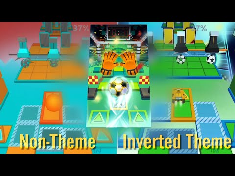Rolling Sky Level 28 World Cup • Non-Theme vs Inverted Theme