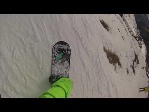 Tigne La Plagne snowboard