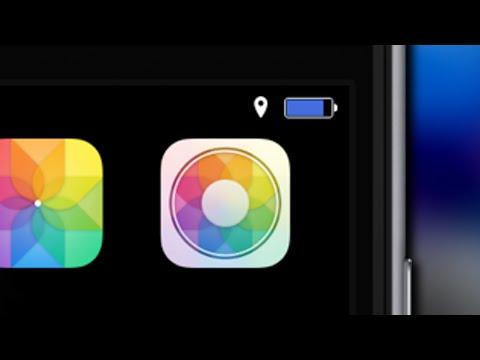 PowerColor - Status Bar Battery Color Transitions