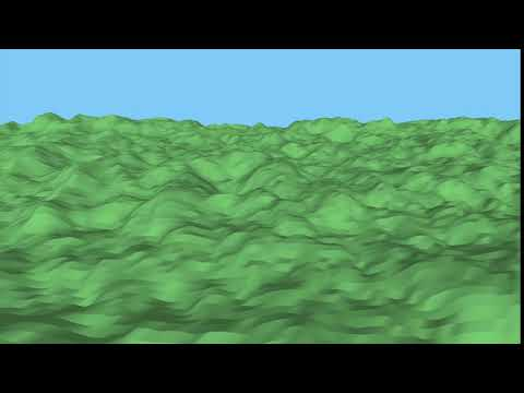 Terrain with Scala and Processing