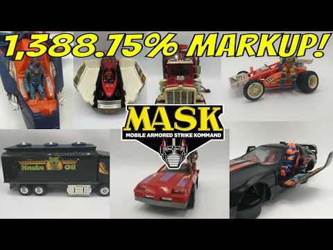 Xxx Mp4 How Much Did The M A S K Kenner Toys Sell For 3gp Sex