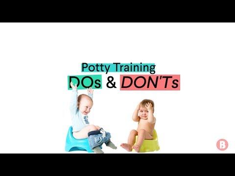 Potty Training: Dos & Don'ts