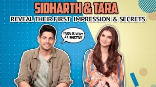 Sidharth Malhotra & Tara Sutaria Reveal Their First Impression & Fun Secrets | Marjaavaan