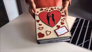 DIY: Cutest Birthday Scrapbook ideas| Handmade love scrapbook for someone special|Romantic Scrapbook