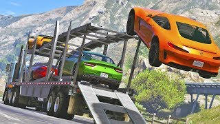 CARJACKERS - Michael and Franklin | GTA 5 Action movie