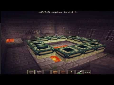 NEW END PORTAL! - Minecraft Pocket Edition Update 0.9.0