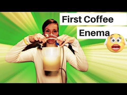 26 day Green Smoothie Girl detox 1st Coffee Enema & the flush (drinking epsom salt & olive oil)