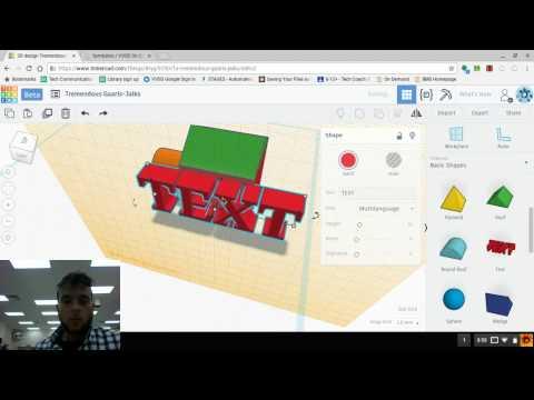TinkerCAD (5) Manipulating the Workplane