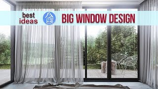 💗 Large Windows | New Windows for Home | Modern House Window Design