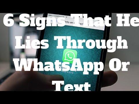 6 Signs That He Lies Through WhatsApp Or Text