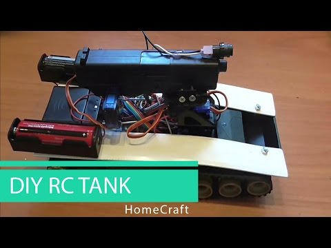 How To Make a Remote Controlled Tank // HomeCraft