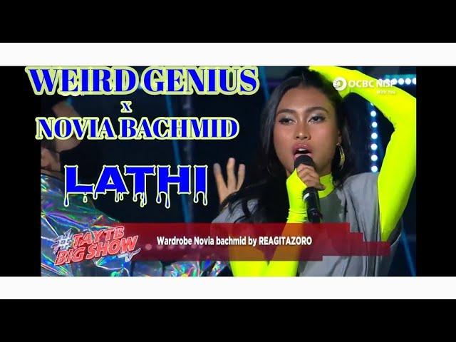 Download LATHI - WEIRD GENIUS X NOVIA BACHMID (LIVE BANK OCBC NISP) MP3 Gratis