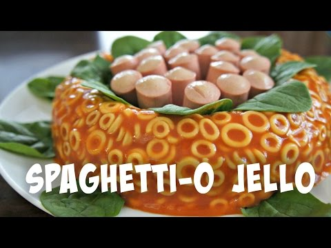 SpaghettiO Jello Mold Retro Recipe | You Made What?!