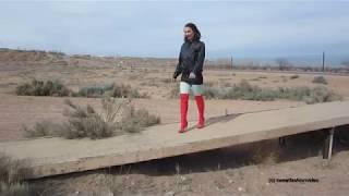 Lena + Nina in Stiefel (Boots, Overknee, High Heel) #0091