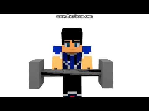 Minecraft Animation 3D| Dumbbell MP4