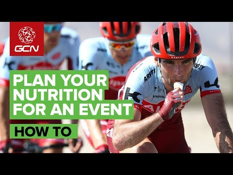 How To Plan Your Race Or Sportive Nutrition With Asker Jeukendrup