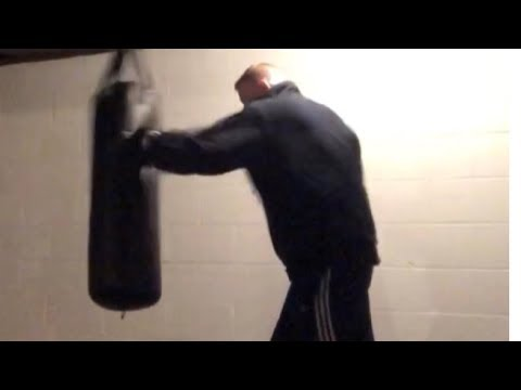 My punching bag, great workout
