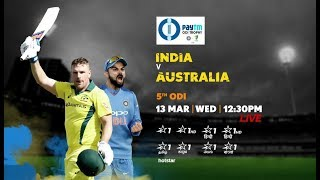 Paytm INDvAUS: Time for the series decider!