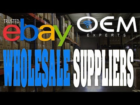 BUYING WHOLESALE TO SELL ON EBAY - OEMEXPERTS TRUSTED SUPPLIER