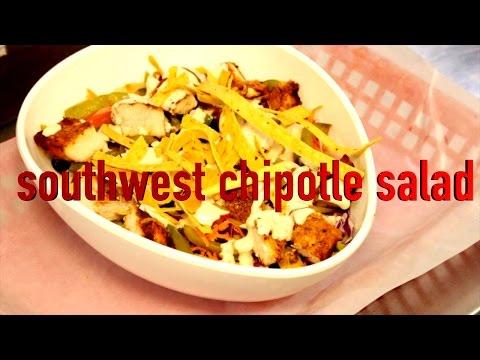 Southwest Chipotle Chicken Salad Recipe (In English)