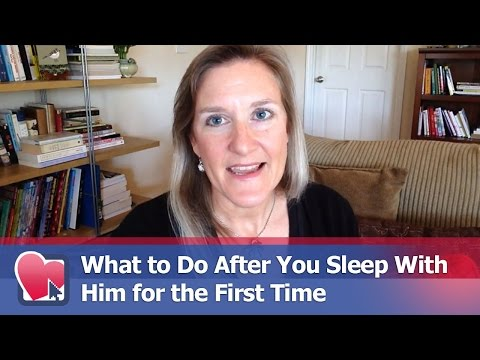 What to Do After You Sleep With Him for the First Time - by Claire Casey (for Digital Romance TV)