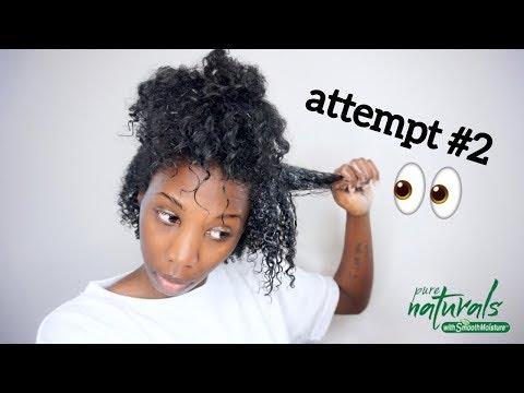 Soo.. I Tried A Wash N Go AGAIN! | ft. Jamaican Mango & Lime Pure Naturals