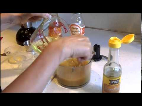 Orange Vinaigrette Dressing