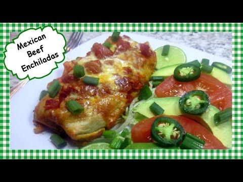 Mexican Beef Enchilada Recipe ~ How to Make Enchiladas, My Way